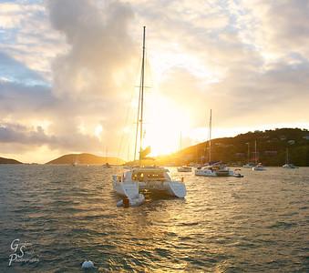 Sunrise at Leverick Bay