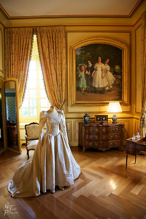 Cheverny Interior Yellow Room
