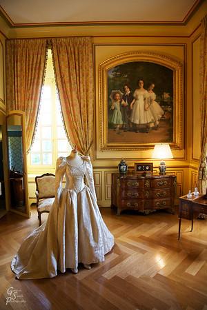 Cheverny Interior Yellow Room