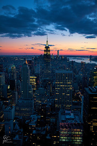 New York Sunset gorgeous and cool