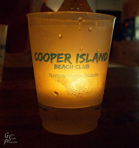 Cooper Island Beach Club Restaurant Light