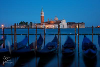 San Giorgio Maggiore and the Gondolas
