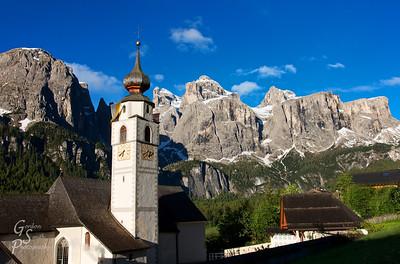 Corvara Church