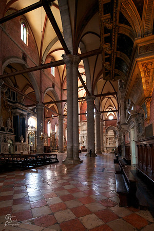 Inside the Cathedral of Saints John and Paul