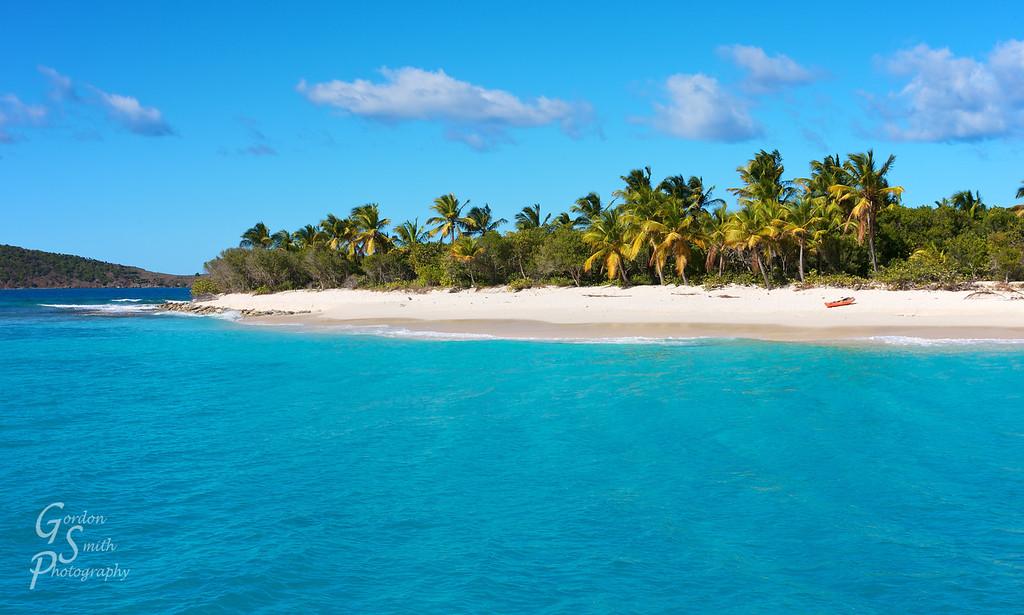 Caribbean island sandy cay bvi