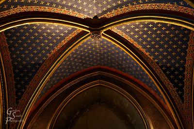 Saint Chapelle Ceiling