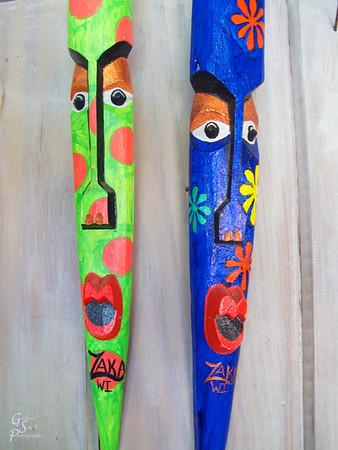 Caribbean Painted Masks