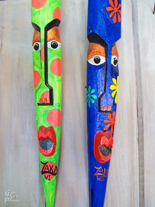 Caribbean Painted Masks