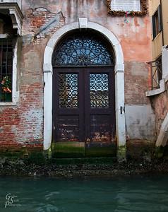 Door at Low Tide