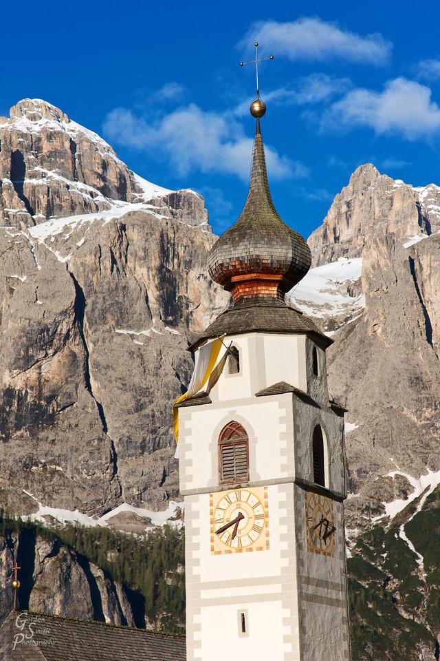 Dolomite Church Tower