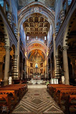 Pisa Duomo Floor to Ceiling