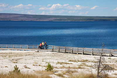 Yellowstone Lake and Teenagers