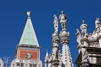 Statues and Spires
