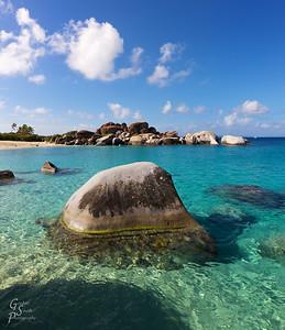 Granite Submerged Rock
