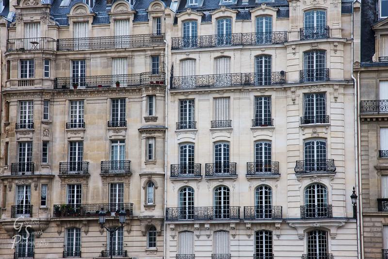 Paris Apartment Buildings