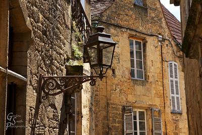 Sarlat Lantern and Stone buildings