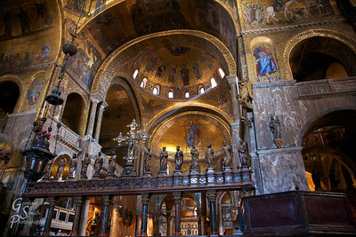 Golden Saint Mark's Basilica
