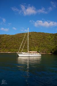 Sailboat and Reflection