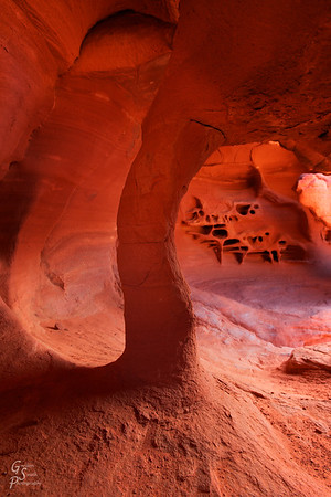 Underneath Windstone Arch