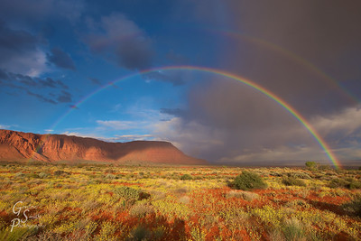 Double Desert Rainbow