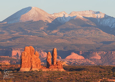 Sunset in Arches NP