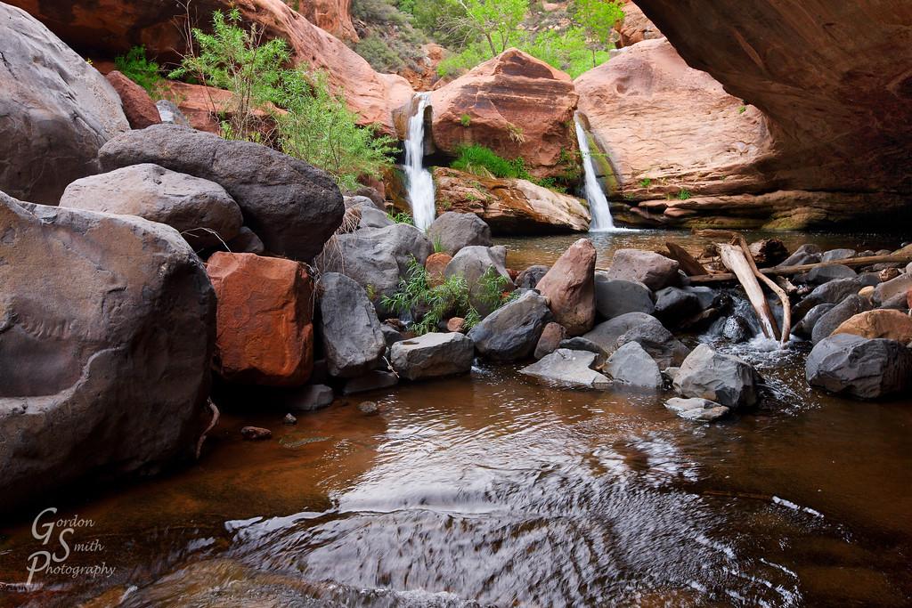 zion remote swimming hole
