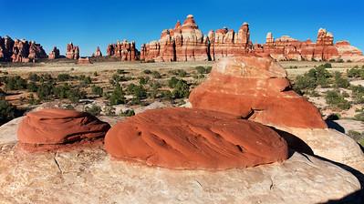 Chesler Park Red Boulders