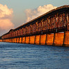 Bahia Honda Bridge at Sunset