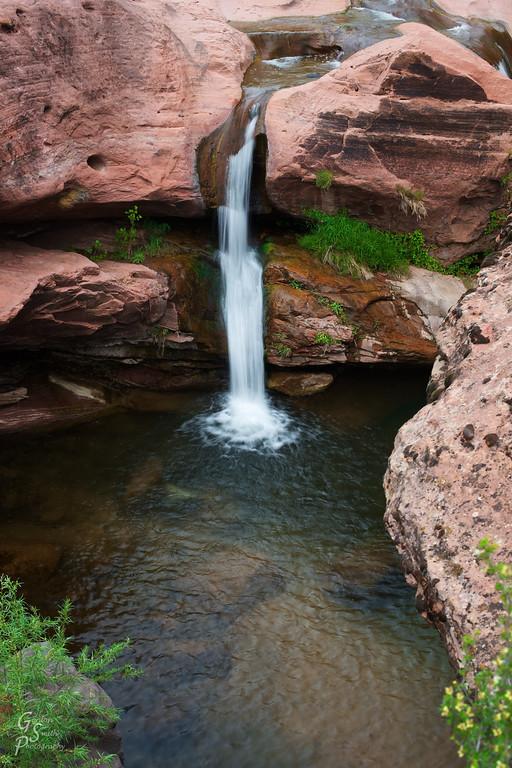 secret southwest waterfall