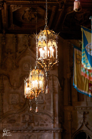 Ancient Lights at Hearst Castle