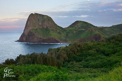 Kahakuloa Head at Sunset