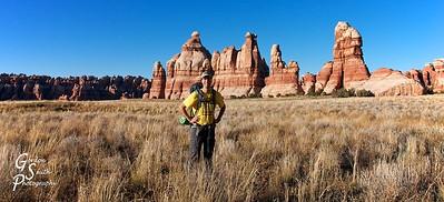 Gordon Smith hiking in Utah