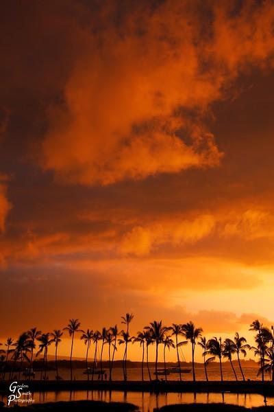Anahoomalu Stormy Sunset