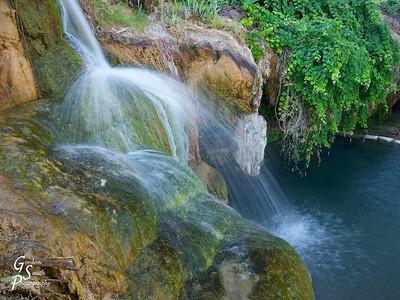 Jamaica Falls Closeup