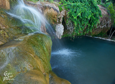 Jamaica Falls located in a nice desert hotspot.