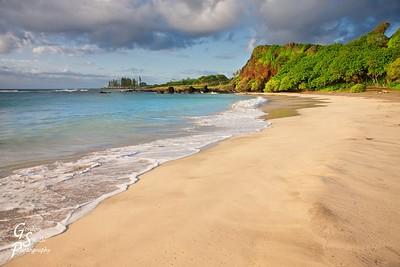 Hamoa Beach Sand and Sunrise