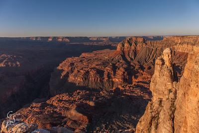Over Grand Canyon
