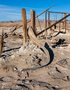 Salton Sea House Frame