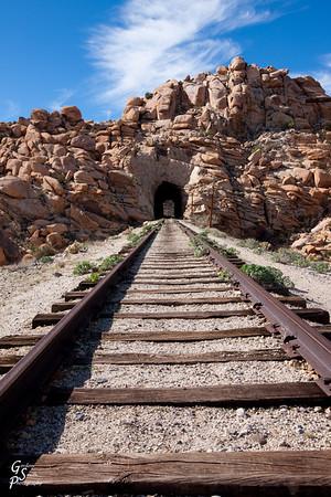Goat Canyon Train Tracks