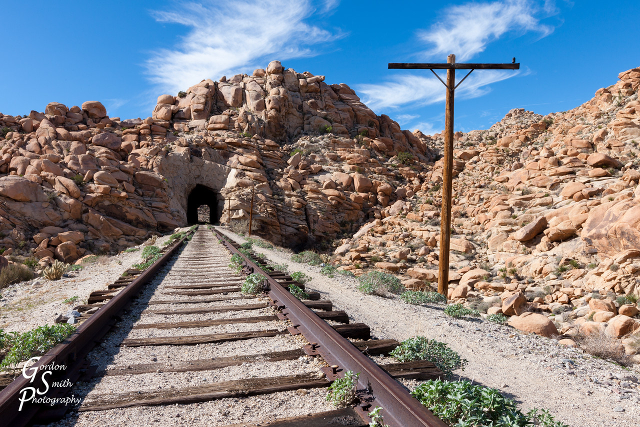 Tunnel To goat Canyon trestle