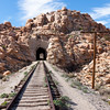 Desert Railroad Tracks