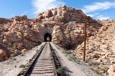 Desert Railroad Tracks