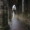 Whitby Abbey Corridor