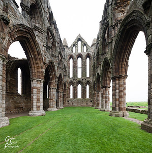 Whitby Abbey Ruined Shell