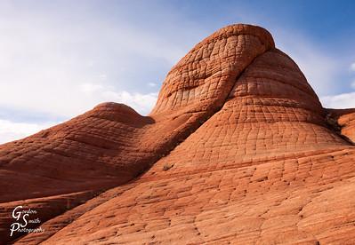Folded Sandstone Teepee