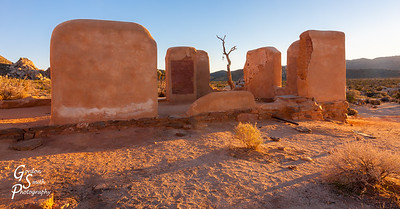 Ryan Ranch Ruins at Sunset