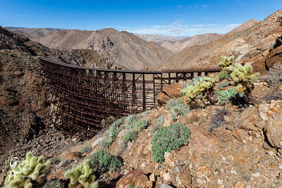 Goat Canyon Trestle and Carrizo Gorge