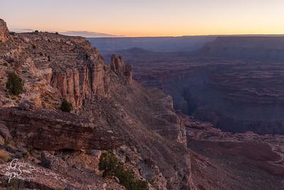 Kanab Point over Kanab Canyon