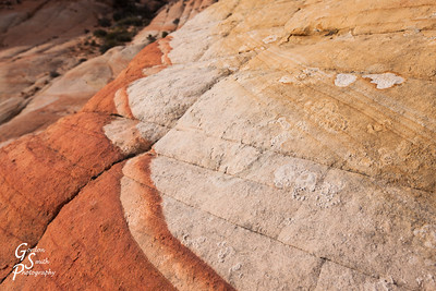 Red Line in Sandstone