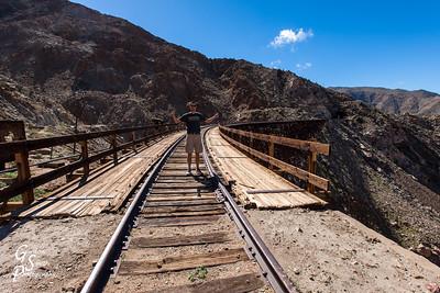 Goat Canyon Trestle and Gordon Smith